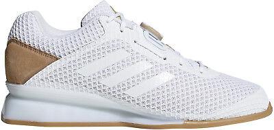 Adidas Leistung 16 Ll Boa Mens Weightlifting Shoes - White Einfach Zu Schmieren