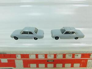 BP684-0-5-2x-Maerklin-H0-Auto-Ford-Taunus-17-M-fuer-4613-Autotransportwagen-s-g
