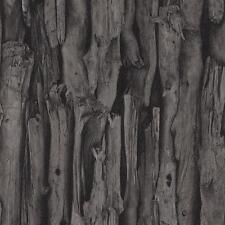 Rasch árbol corteza patrón realista de piel sintética efecto fotográfico Mural Wallpaper