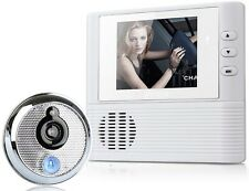 """Wireless 2.8"""" Electronic Video Doorbell Photographed CameraMonitor Home Security"""