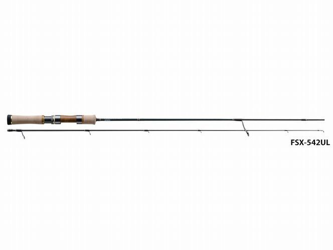 Major Craft Finetail Stream Fsx542ul Canna Pesca per Pesce Persico