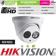 HIKVISION DS-2CD2342WD-I 4MM 4MP 2MP 1080P Turret EXIR IR WDR ONVIF IP Camera