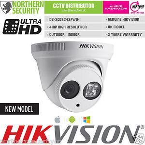 Hikvision-6mm-4MP-EXIR-30m-IR-WDR-ONVIF-P2P-Turret-Kuppel-IP-Sicherheit