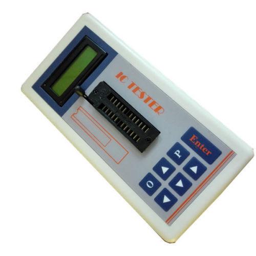 Digital IC Tester Detect IC Tester Meter Maintenance Transistor Tester MOS PNP