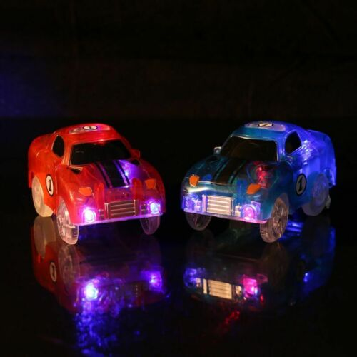 Cars For Magic Tracks Glow in the Dark Amazing Light Up Race Car Christmas Gift