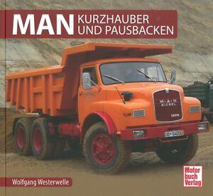 Typenchronik-MAN-Kurzhauber-Modelle-Technik-Geschichte-Typen-Buch-Handbuch