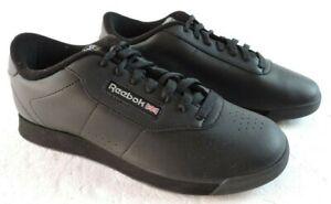 Reebok-Womens-10-Princess-7344-Black-Training-Walking-Shoes-Sneakers
