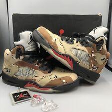 separation shoes 4256f 52458 item 3 Nike Air Jordan Reteo V Supreme Desert Camo Black Red Size 9.5  824371 201 VI VII -Nike Air Jordan Reteo V Supreme Desert Camo Black Red  Size 9.5 ...