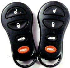 Lot of 2; 99 2000 Crysler 300 M Concord LHS keyless remote control keyfob FOB