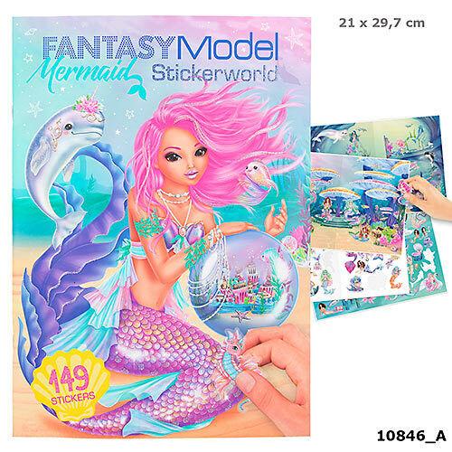 Depesche Fantasy Model Mermaid Stickerworld