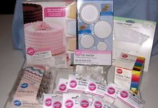 Huge Lot of 18 Items of Wilton Cake Decorating Supplies (Lot C) NEW