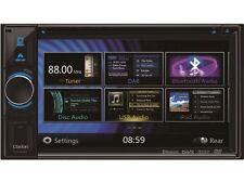 Clarion Navigation 2 DIN DVD HDMI für Honda Accord CU CW Facelift anthrazit