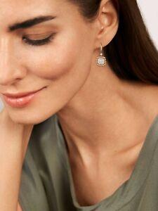 Diamanten-Ohrringe-Ohrhaenger-34-Brillanten-0-41-Carat-VS-585er-14K-Gold-Rosegold