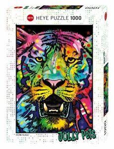 Heye Puzzle - 1000 Pezzi Selvaggio Tiger HY29766