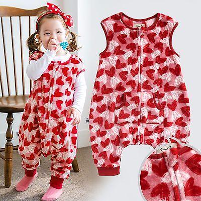 "Vaenait Baby Toddler Kids Girls 3Color Super Soft Sleepsack /""Mf.Camellia/"" 1T-7T"