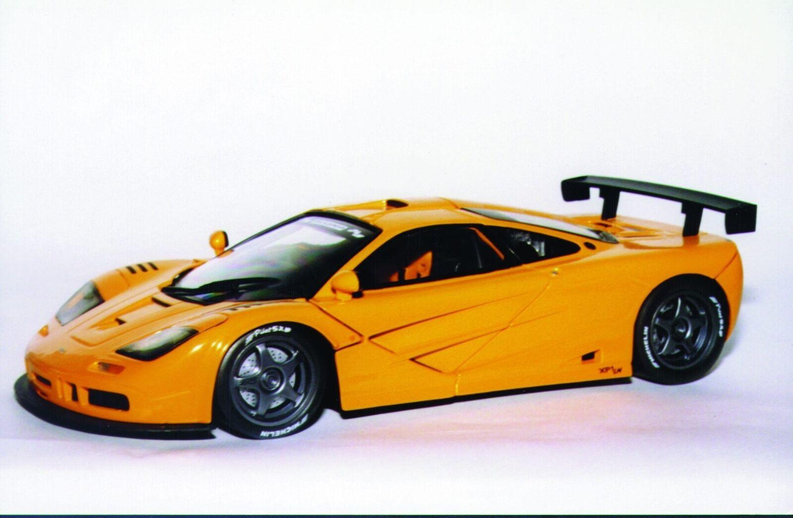1:18 UT Models McLaren F1 GTR Le Mans Roadcar orange