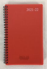 2021 2022 Weekly Monthly Student Academic Spiral Planner Agenda Red 5 X 8