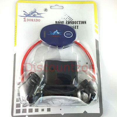 Bone conduction receiver for Coach to Swimmer SCUBA/Snorkeling Swimming Training