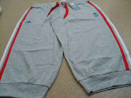 Official adidas Olympics LONDON 2012 m GB 3 Quarter Ladies Pants, Size 10