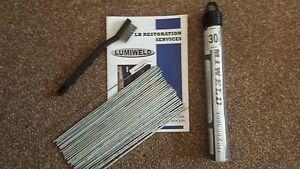 Lumiweld 30 Rod Kit - Low Temp Aluminuim Repair