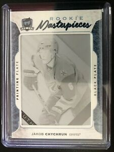 2016-17-The-Cup-Jakob-Chychrun-Rookie-Masterpieces-Black-Printing-Plate-1-1