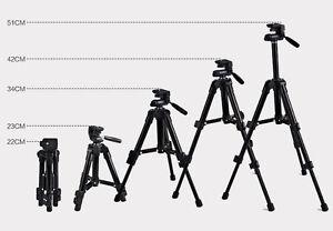 Universal-portatiles-Aluminio-Tripode-Soporte-para-Canon-Nikon-Videocamara