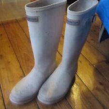 Hunter Wellies Wellington Botas muy pálido rosado UK Size 5 ver descripción