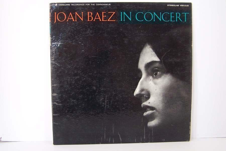Joan Baez - In Concert Vinyl LP Record Album VSD-2122