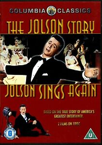 THE-JOLSON-STORY-amp-JOLSON-SINGS-AGAIN-REGION-2-DVD-FREE-UK-P-amp-P