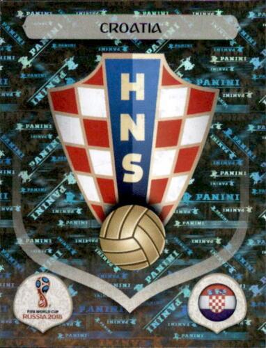 Kroatien Kroatien Panini WM 2018 World Cup Russia Sticker 312 Emblem