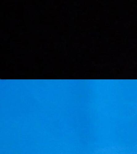"Ocean Blue//Black Pearl Vibran-Sea Double Sided Aquarium Background 12/"" H x 24/"""