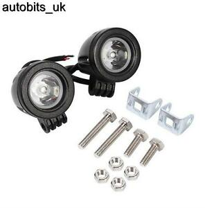 2-PCS-10W-Bright-LED-Car-Bike-Motorcycle-Work-Driving-Fog-Light-Spot-Beam-Lamp