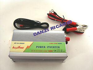 INVERTITORE-INVERTER-DI-CORRENTE-12V-220-300W-WATT-AUTO-ALCA-POWER-DC-gt-AC