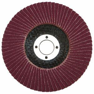 10-X-FLAP-DISCS-115mm-4-5-034-SANDING-40-60-80-120-GRIT-GRINDING-WHEELS
