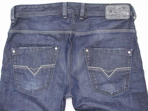 NWT Men/'s Diesel Fashion Slim Fit Jeans Trousers Krooley 802D Vintage Blue
