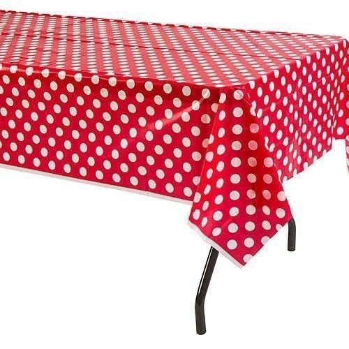 Polka Dots 60 x126  Satin Tablecloths Lot 12 Wholesale Wedding Table Overlays