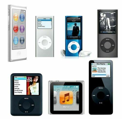 iPod Nano 1a 2a 3a 4a Geração 4GB 8GB 16GB