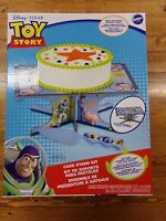 Disney Pixar Toy Story Wilton Cake Stand & Server Kit Round Or Sheet Cake