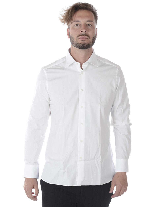 Zegna hemd baumwolle Man Weiß 9MSOJI301063 Sz.42 MAKE OFFER