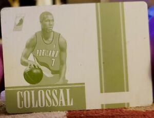 BRANDON-ROY-2012-13-National-Treasures-Colossal-PRINTING-PLATE-1-1-of-1-Blazers