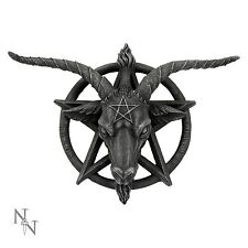 Baphomet Wall Plaque 30cm High Pentagram Nemesis Now