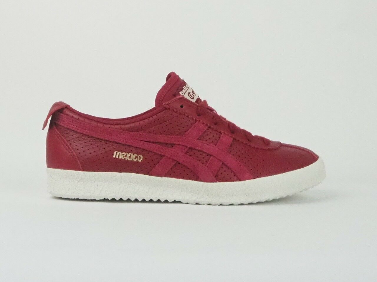 Womens Onitsuka Tiger Mexico Delegation D808L Leather Ladies Casual Shoes UK 5.5