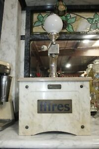 """Vintage 1905 Hires """"Munimaker"""" Root Beer Marble Syrup Soda Fountain Dispenser"""