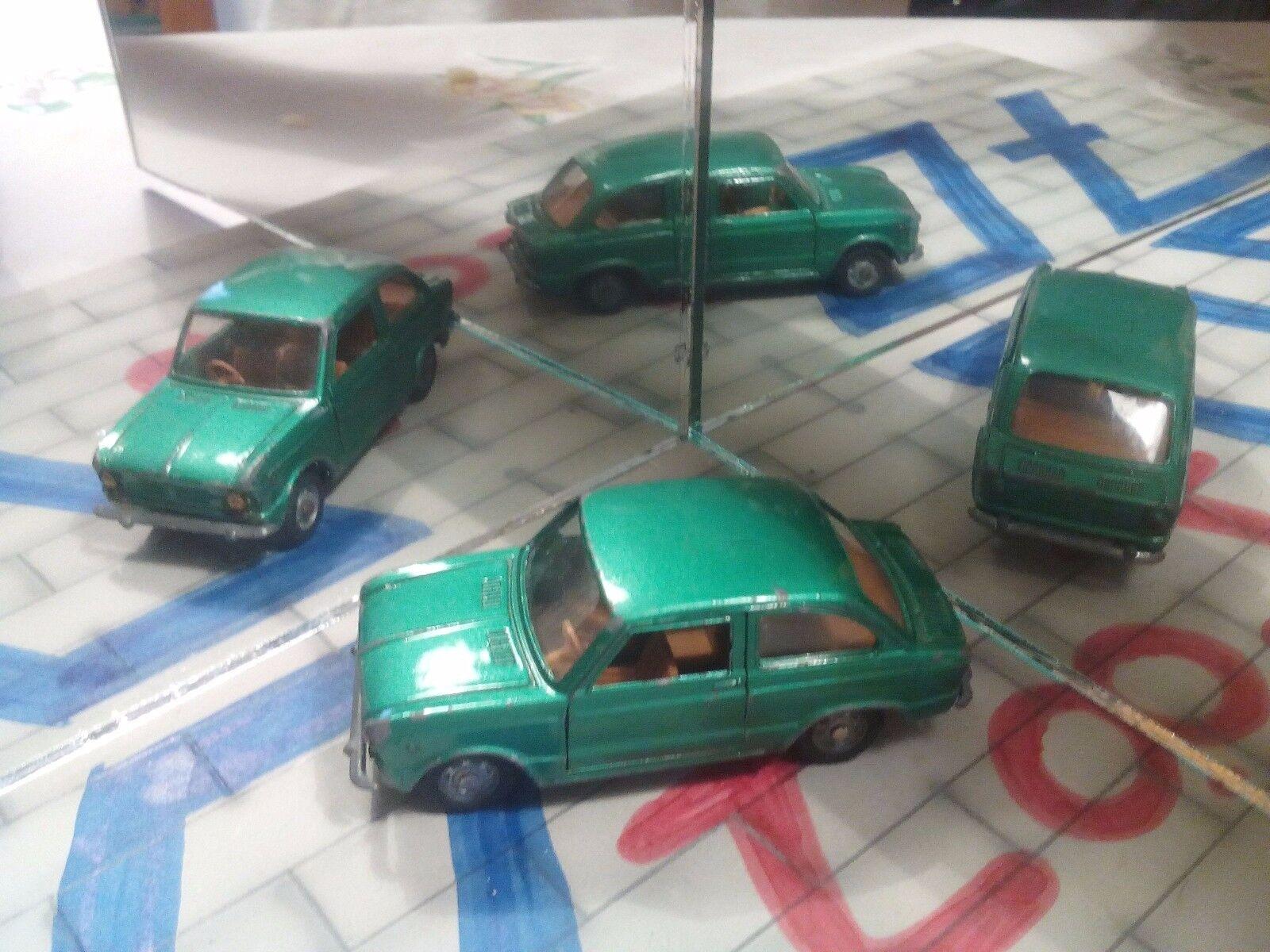 Mebetoys FIAT 850 codice A1 verde metallizzato - Scala 1 43 Rara