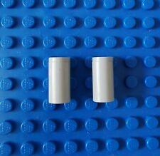 Lego Technic Technik 4 x Platte 2x2 mit Pinloch #2444 weiss