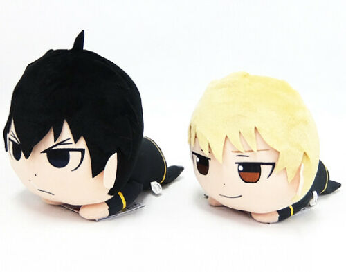 BANDAI GINTAMA Hijikata Toshiro 15cm plush stuffed doll Shonen Jump 2SET 85