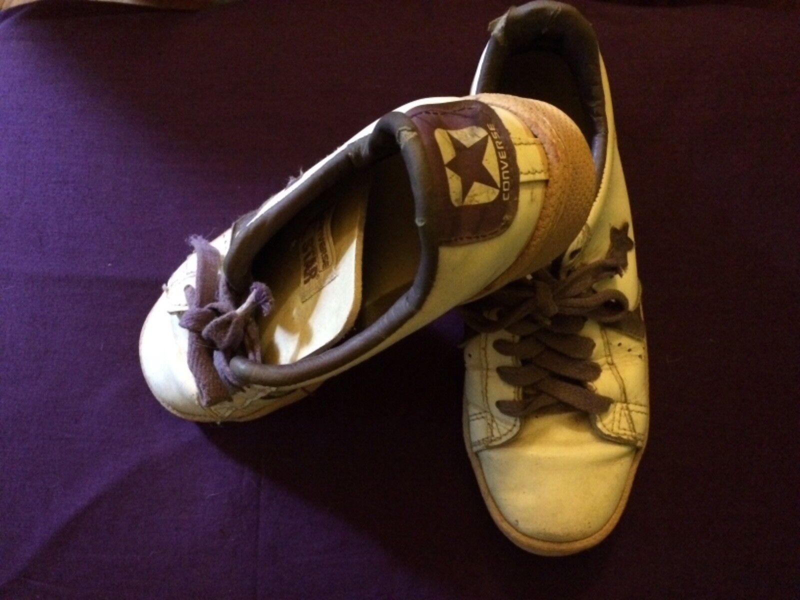 e91c830fe Rara Rara Rara De colección Converse Zapatos tenis de cuero todos Star  Vieja Escuela Zapatillas WMS 8 hombres 6 801c2a