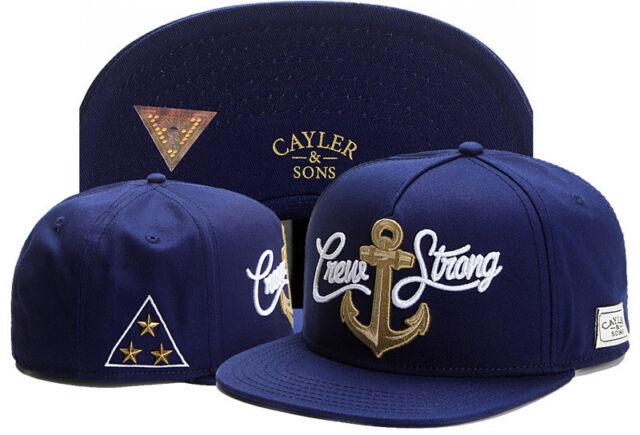 New Hip Hop Men's CAYLER Sons cap adjustable Baseball Snapback Hat Blue 167#