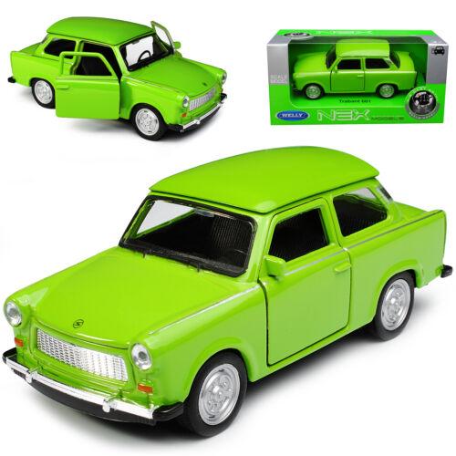 Trabant Trabbi 601 Limousine GrÜn Green Ca 1//43 1//36-1//46 Welly Modellauto Model