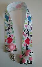 handmade bookmark 22mm gr/g ribbon bookmark birthday gift dog poodle owl bonnet